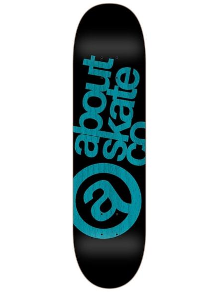 "About Monochrome 3Co 8.125"" Skateboard Deck blauw"