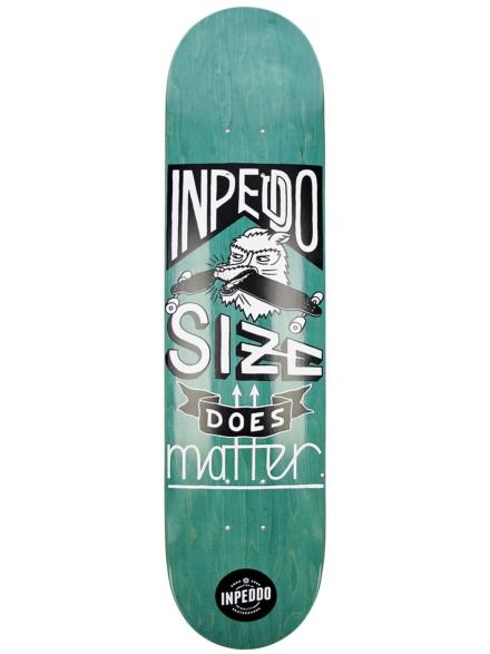 """Inpeddo Size Matters 7.5"""" Skateboard Deck groen"""