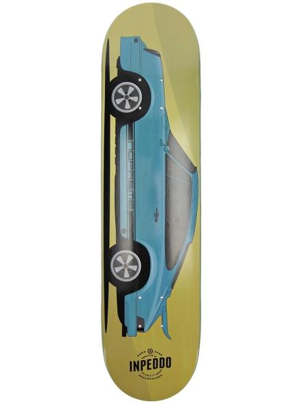 """Inpeddo X Nopreme 7.5"""" Skateboard Deck blauw"""