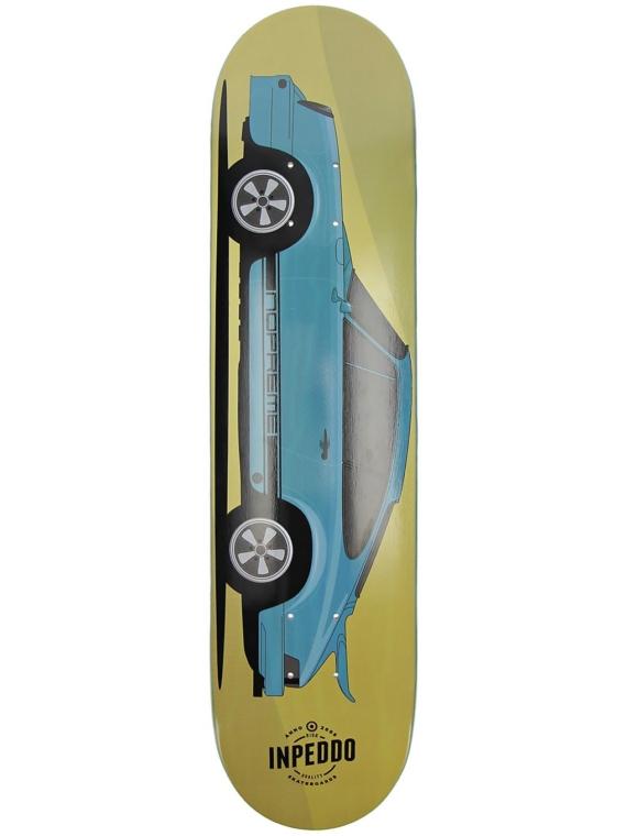 Inpeddo X Nopreme 7.5″ Skateboard Deck blauw
