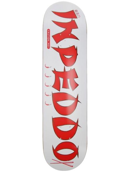 """Inpeddo Hot Stick 8"""" Skateboard Deck wit"""