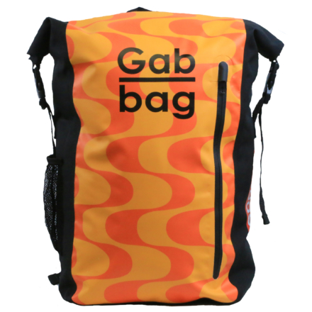 Gabbag The Original II 35l waterdichte laptop rugzak Oranje