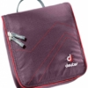 Deuter Wash Center II toilettas met haak- Aubergine/Fire