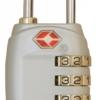 Travelsafe TSA cijfercode hangslot zilver