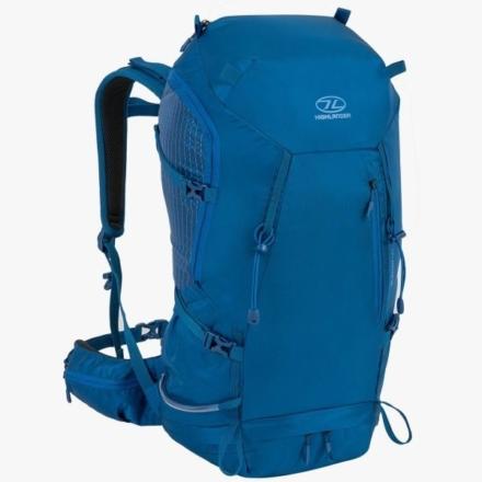 Highlander Summit 40l wandelrugzak met rugventilatie Marine Blue
