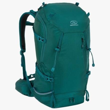 Highlander Summit 40l wandelrugzak met rugventilatie Leaf Green