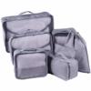 DreamTravel Packing cubes organiser set van 7 grijs